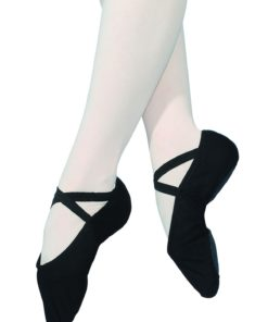 Ballet slippers Strech RV black